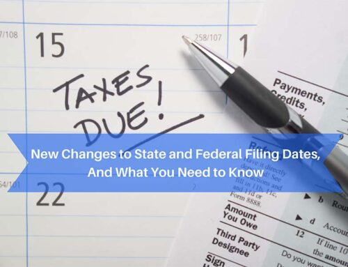 2021 Filing Date Changes